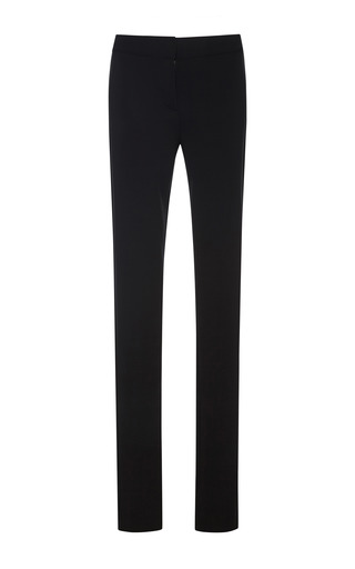 Medium derek lam black stretch crepe jersey skinny pants