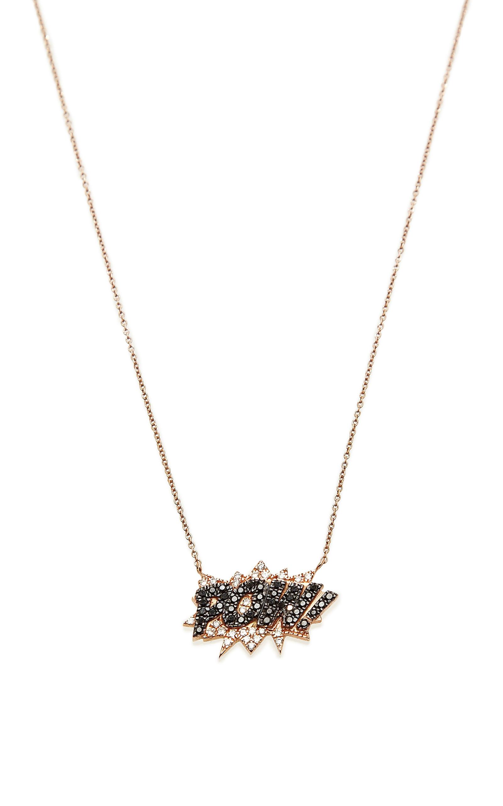Diamant, Turquoise Et Or 18 Kt Collier Diane Kordas
