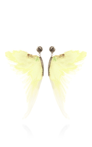 Wing Earrings by DANIELA VILLEGAS for Preorder on Moda Operandi