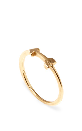 Medium lulu frost gold 14k code ring