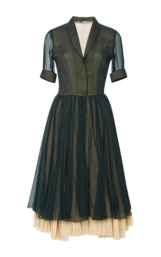 Medium natasha zinko green midi dress 6