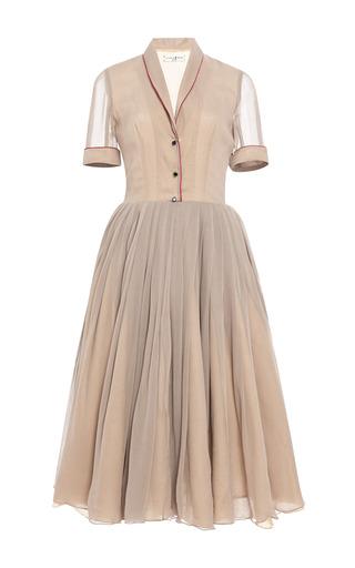 Medium natasha zinko brown midi dress 2