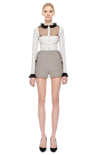 Basque Short by NATASHA ZINKO for Preorder on Moda Operandi