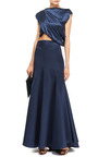M'o Exclusive: Nomadic Satin Maxi Skirt by ELLERY Now Available on Moda Operandi