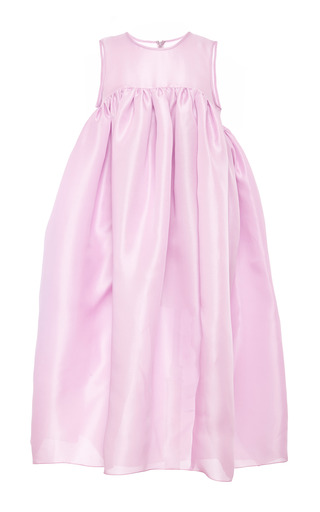 Medium ellery pink mo exclusive violet beauregarde voluminous mid length shift dress