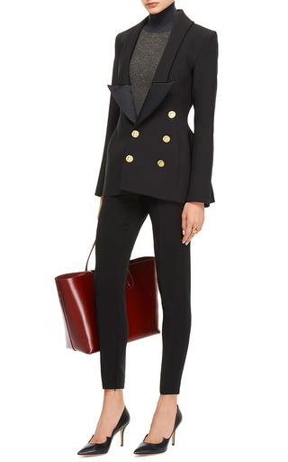 Hallucinogen Double Breasted Tuxedo Blazer by ELLERY Now Available on Moda Operandi