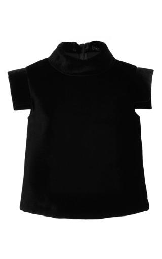 Medium ellery black savannah cropped turtleneck top