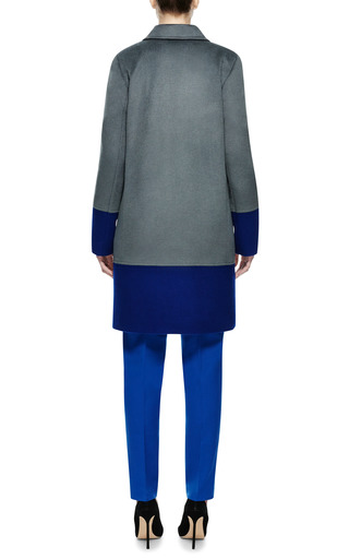 Color Block Coat by A LA RUSSE for Preorder on Moda Operandi