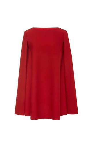 Medium a la russe red cape dress