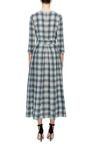 Checkered Midi Dress by A LA RUSSE for Preorder on Moda Operandi