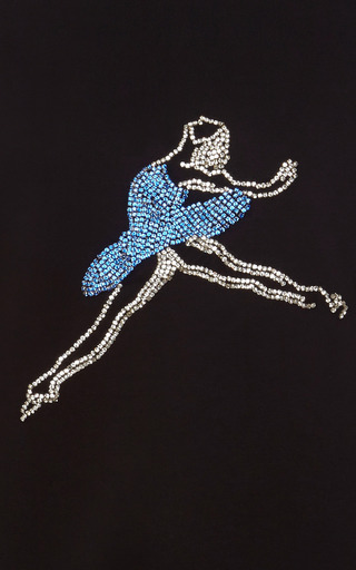 Ballerina Sweatshirt by A LA RUSSE for Preorder on Moda Operandi