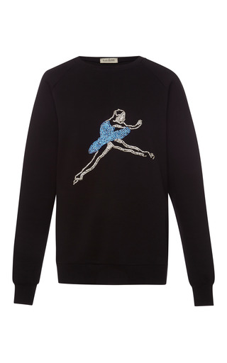 Medium a la russe black ballerina sweatshirt