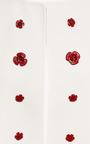 Rose Embellished Wrap Jacket by ESME VIE for Preorder on Moda Operandi