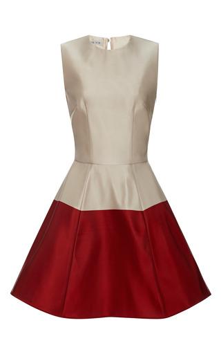 Medium esme vie red stripe sleeveless mini dress