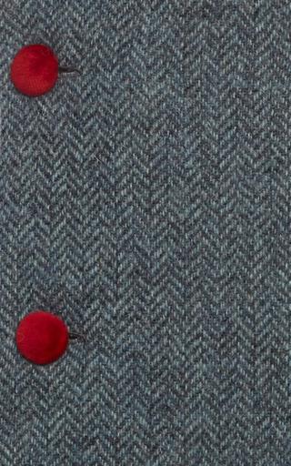 Tweed Pinafore Dress by OSCAR DE LA RENTA for Preorder on Moda Operandi