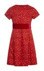 Tulip Cotton Dress With Pleated Skirt by OSCAR DE LA RENTA for Preorder on Moda Operandi