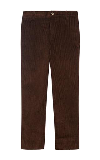 Medium oscar de la renta brown endine classic pants 4
