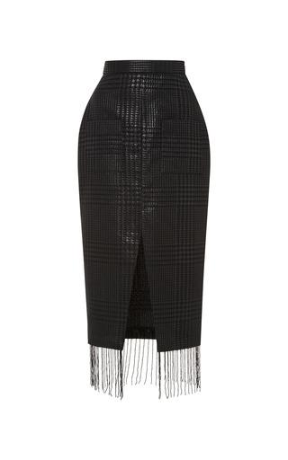 Medium kalmanovich black skirt with slit