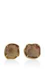 One Of A Kind Baby Geode Stud Earrings by KIMBERLY MCDONALD for Preorder on Moda Operandi