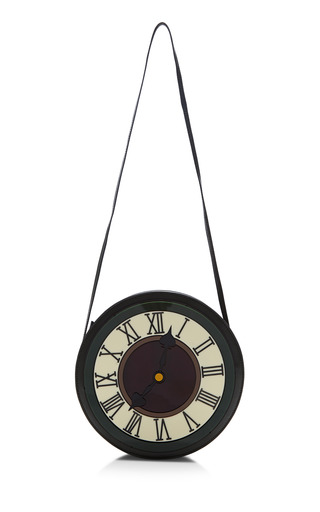 Medium yaz bukey green yaz bukey clock round bag