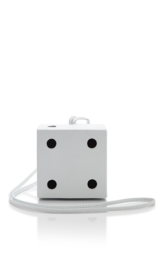 Yaz Bukey Shoulder Dice Bag by YAZBUKEY for Preorder on Moda Operandi