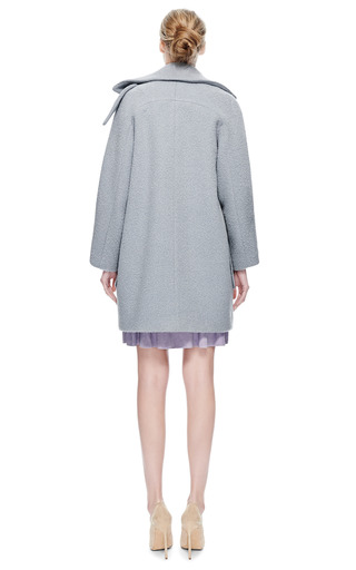 X.C. Tang Oversize Alpaca Coat by X.C. TANG for Preorder on Moda Operandi