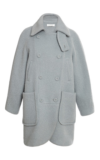 Medium x c tang dark grey xc tang oversize alpaca coat