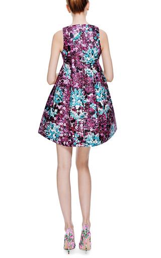 Ponker Embellished Satin Twill Dress by MARY KATRANTZOU Now Available on Moda Operandi