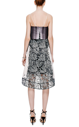 Radial Printed Lace Dress by PETER PILOTTO Now Available on Moda Operandi