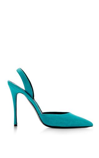 Elyse Walker Turquoise Sling Back by ELYSE WALKER for Preorder on Moda Operandi