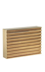 Lee Savage Gold Stack Clutch by LEE SAVAGE for Preorder on Moda Operandi