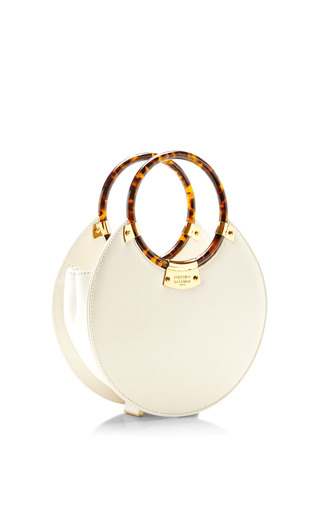 Fairchild Baldwin O Bag In White by FAIRCHILD BALDWIN for Preorder on Moda Operandi