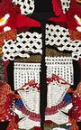 Sachinbabi Collection Embroidered Cropped Jacket by SACHIN & BABI for Preorder on Moda Operandi