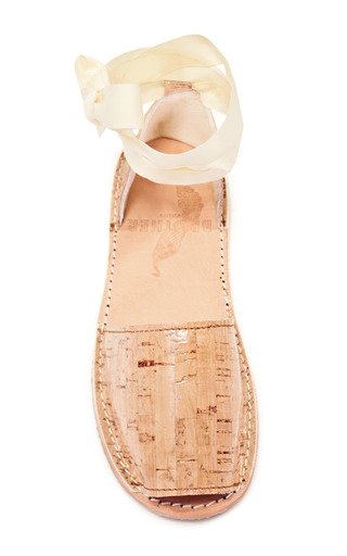 Brother Vellies Cork Ballet Sandal by BROTHER VELLIES for Preorder on Moda Operandi