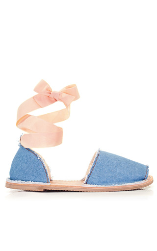 Medium brother vellies blue brother vellies denim ballet sandal