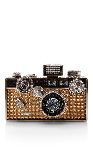 Medium judith leiber gold judith leiber camera bag