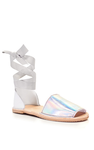 Brother Vellies Technology Ballet Sandal by BROTHER VELLIES for Preorder on Moda Operandi