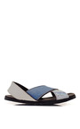 Brother Vellies Technology Lyre Sandal by BROTHER VELLIES for Preorder on Moda Operandi