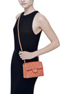 Vintage Chanel Coral Caviar Leather Bag by WHAT GOES AROUND COMES AROUND for Preorder on Moda Operandi