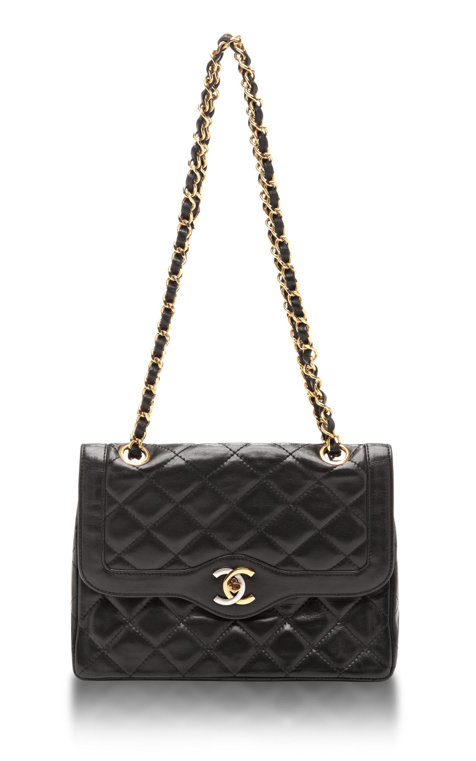 Chanel Väskor Vintage : Vintage chanel paris limited edition small bag by moda