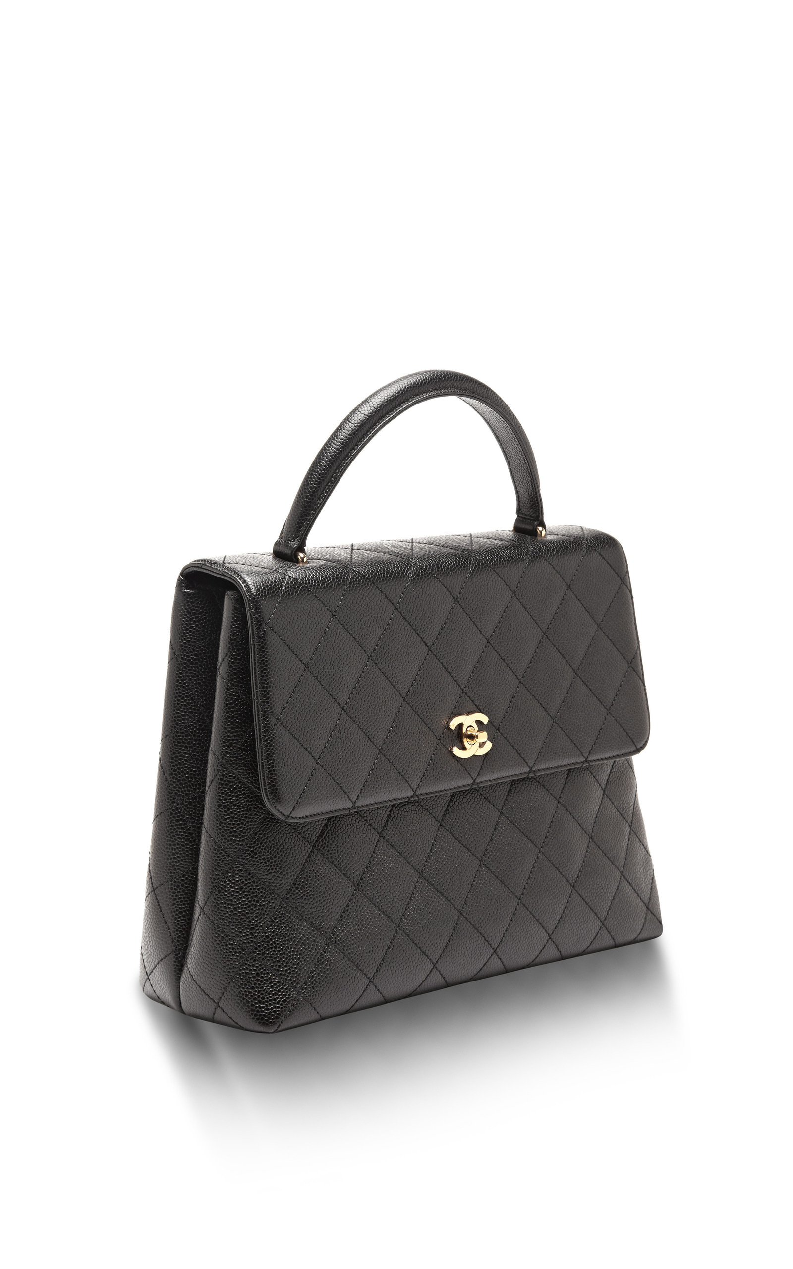 de785b815300 Collectible JacketsVintage Chanel Black Caviar Kelly Bag. CLOSE. Loading