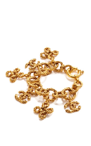 Vintage Chanel Florentine Charms Bracelet by WHAT GOES AROUND COMES AROUND for Preorder on Moda Operandi
