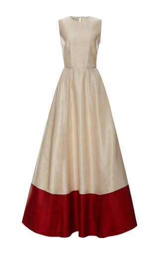 Medium esme vie red stripe sleeveless maxi dress