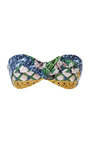 Tresse Padded Bandeau Top by AGUA DE COCO Now Available on Moda Operandi