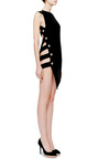 Bonded Satin Mini Dress by ANTHONY VACCARELLO Now Available on Moda Operandi
