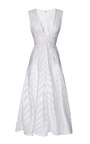 Silk Organza A Line Dress by J. MENDEL Now Available on Moda Operandi