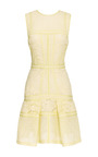 Paneled Lace Dress by J. MENDEL Now Available on Moda Operandi