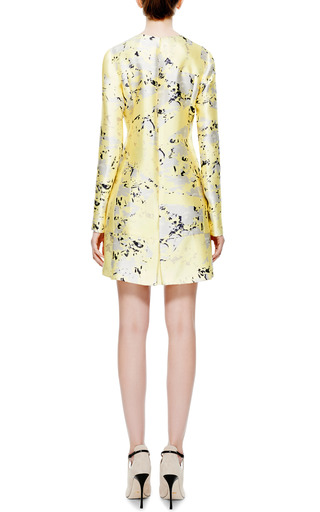 Printed Silk Dress by J. MENDEL Now Available on Moda Operandi