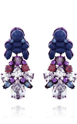 Medium ek thongprasert blue aguilegia alpina earrings