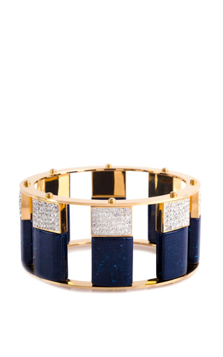Medium lele sadoughi blue lele sadoughi tall stackable bangle